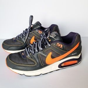 Nike Air Max Command Blk/NavyBlue/Orange Size #9